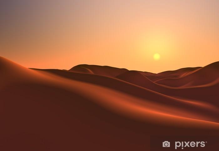 Fototapeta winylowa Krajobraz Fantasy - Desert - Pustynia
