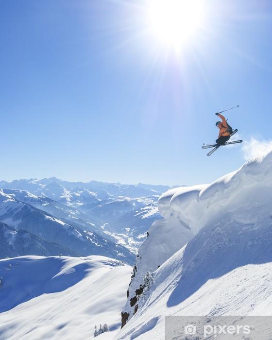 Naklejka Pixerstick Sen zimowy przez Kitzbuhel - Tematy