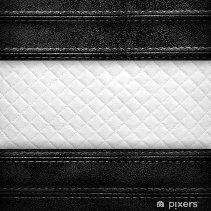 Plakat Skórzane tle - Przemysł ciężki