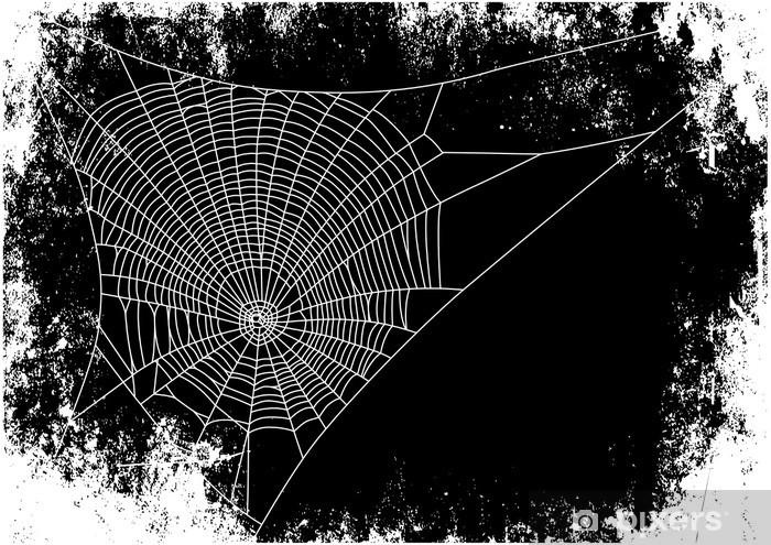 Papier peint vinyle Contexte Spiderweb - Fêtes internationales