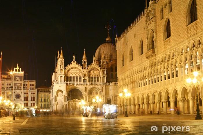 Papier peint vinyle La basilique Saint-Marc, Venise, Italie - Villes européennes