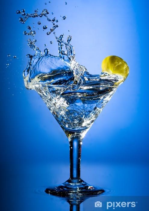 Sticker Pixerstick Martini -