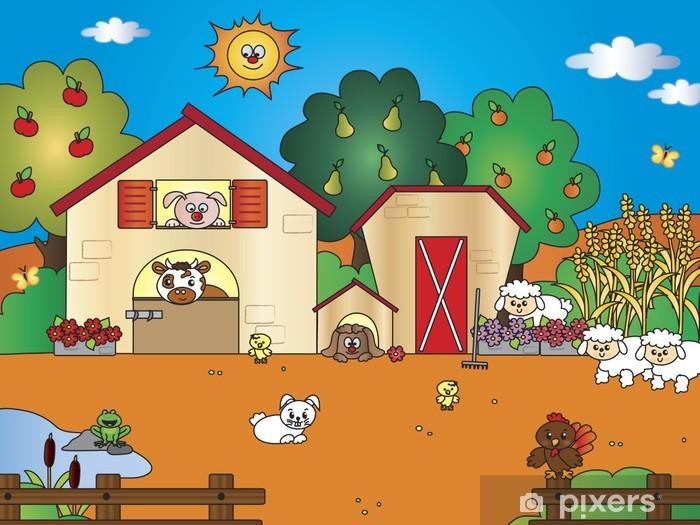 La vecchia fattoria cantata da alice cartoni animati per bambini