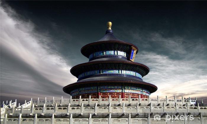Vinil Duvar Resmi Pekin, Çin - Temple of Heaven - Asya kentleri