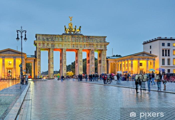 Brandenburger Tor in Berlin Vinyl Wall Mural - Berlin