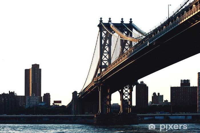 Fototapeta winylowa Williamsburg Bridge, Nowy Jork. - Naklejki na ścianę
