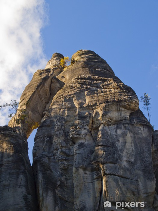 Fototapeta winylowa Adrspach - skalne miasto - Pory roku