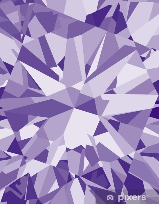 ダイヤモンドのパターン Vinyl Wall Mural - Fashion