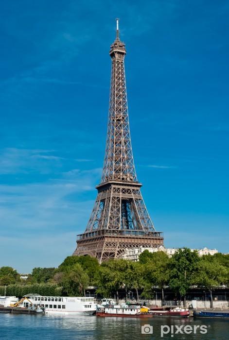 Vinyl-Fototapete Eiffelturm - Tour Eiffel (Paris) - Europäische Städte