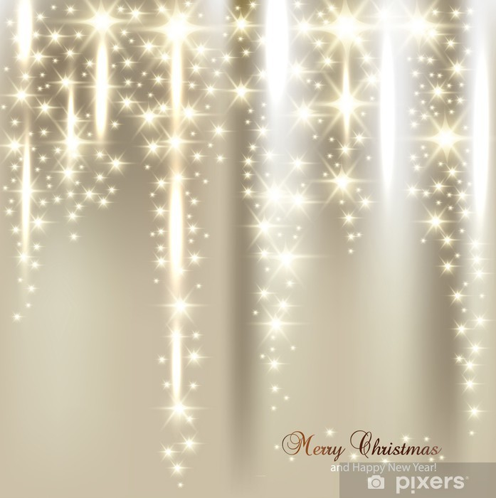 Elegant Christmas Background Images.Wall Mural Vinyl Elegant Christmas Background With Snowflakes And Place For Text