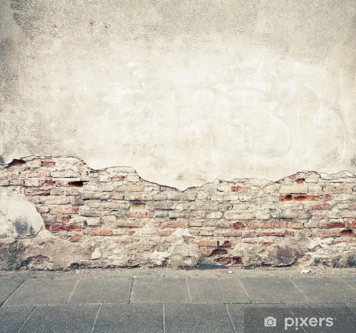 Vinyl Fotobehang Muur textuur - Stijlen