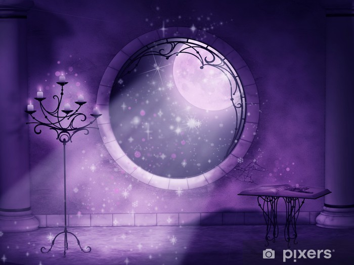 magical gothic night Vinyl Wall Mural - Esoteric