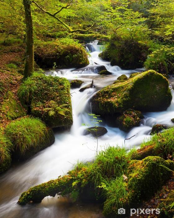 Nálepka Pixerstick Vodopád v lese - Témata