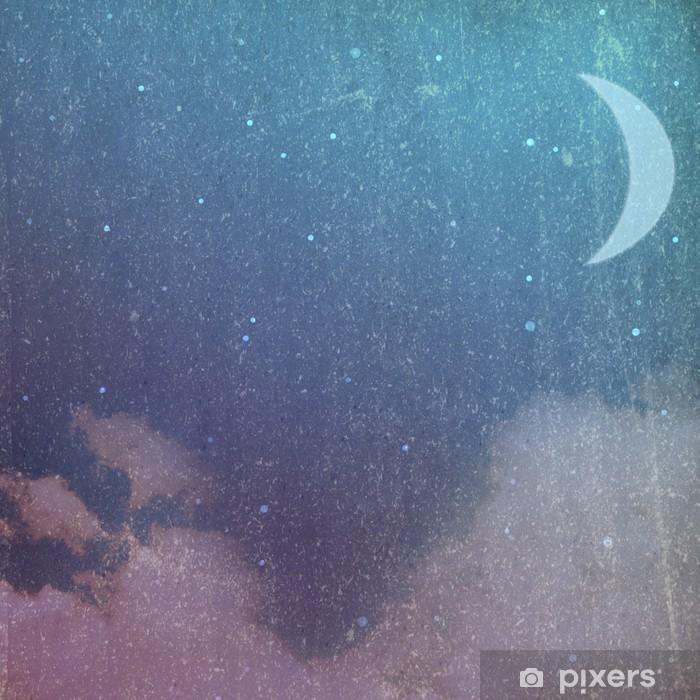 Vinylová fototapeta Grunge / vintage noc pozadí - Vinylová fototapeta