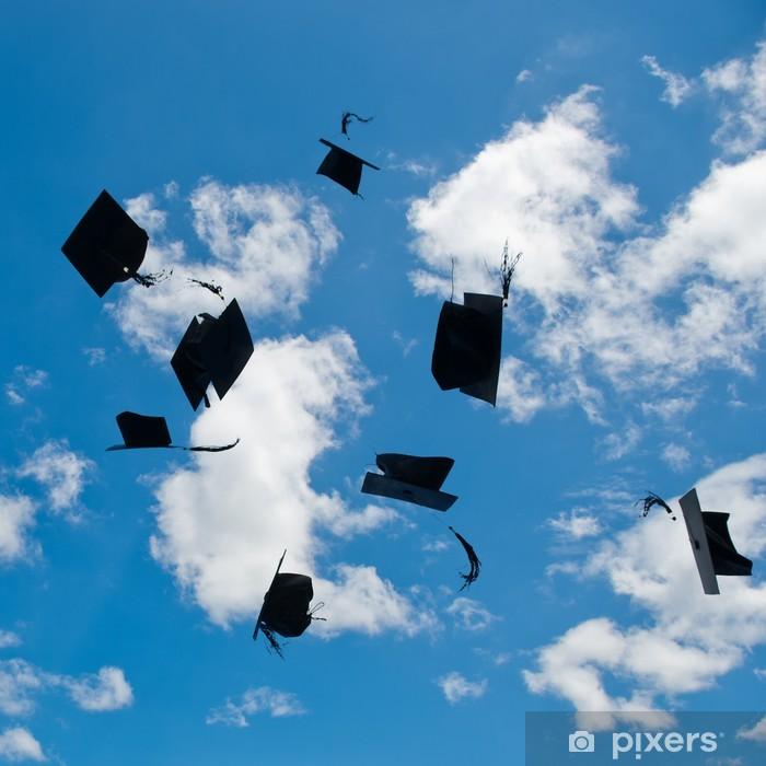 Adesivo Cappelli di laurea • Pixers® - Viviamo per il cambiamento ce29c4a84696