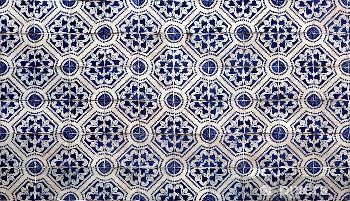 Papier peint vinyle Lisbonne azulejos - iStaging