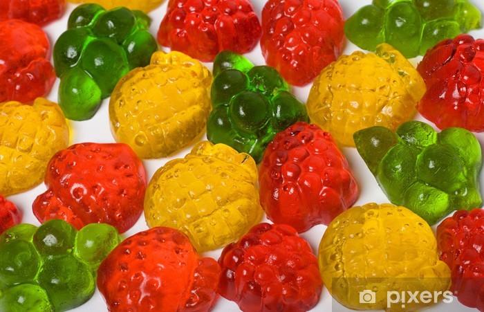 Fototapeta winylowa Cukierków owocowych - Tematy