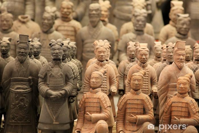 Fototapeta winylowa Znana terakota wojowników w Xian, Qin Shi Huanga Tomb, Chiny - Zabytki