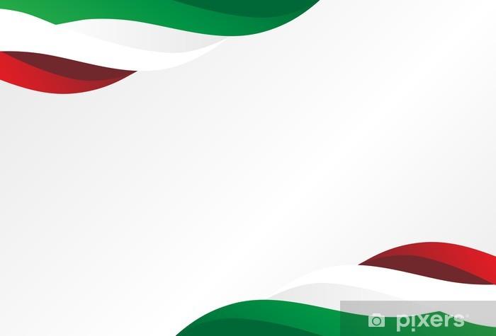 Nálepka Pixerstick Pozadí Itálie - Prvky podnikání