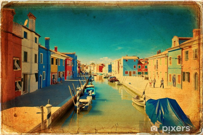 Vinyl Fotobehang Burano - Venetië - Europese steden