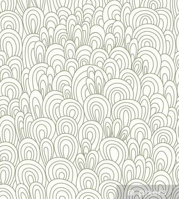 seamless waves wallpaper Pixerstick Sticker - Abstract