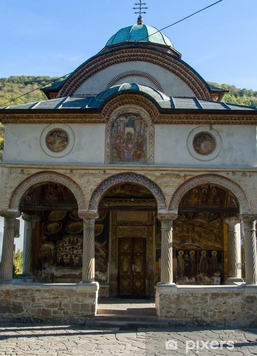 Papier peint vinyle Monastère Cozia, Roumanie - Bâtiments publics