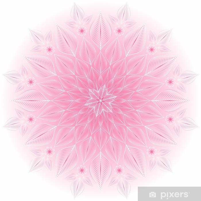 Plakat Delikatna różowo-białe ramki - Święta międzynarodowe