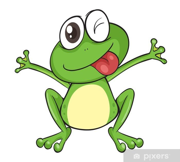 Nálepka Pixerstick Žába • Pixers® • Žijeme pro změnu