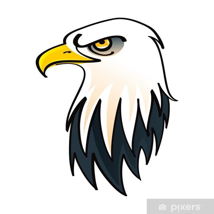 Vinilo Pixerstick Jefe del águila calva - símbolo de los Estados ...