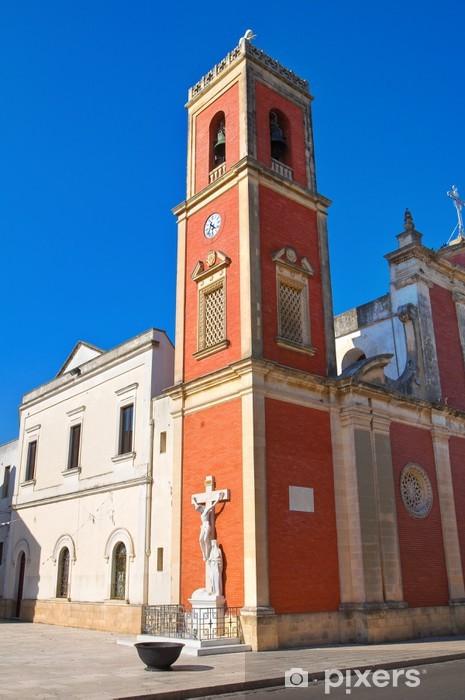 Mural de Parede em Vinil Church of Dominicans. Copertino. Puglia. Italy. - Feriados