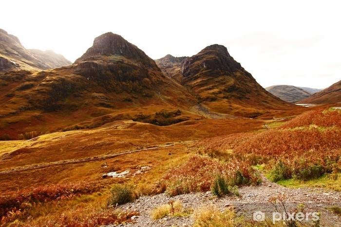 Fotomural Estándar Glencoe, Scottish Highlands, Escocia, Reino Unido - Europa