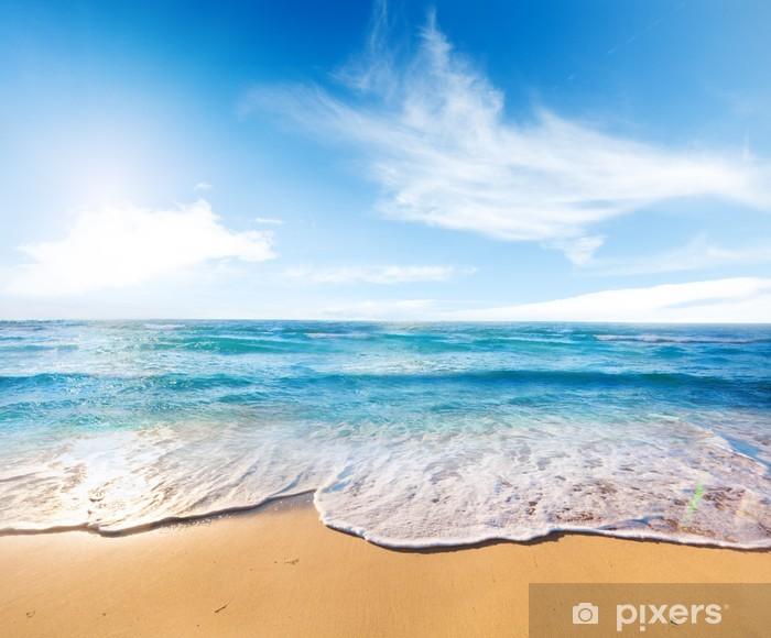 beach and sea Pixerstick Sticker - Themes