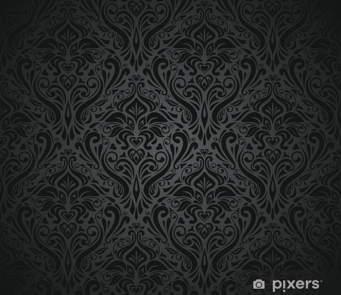 Papier Peint Noir Papier Peint Vintage Pixers Nous Vivons Pour