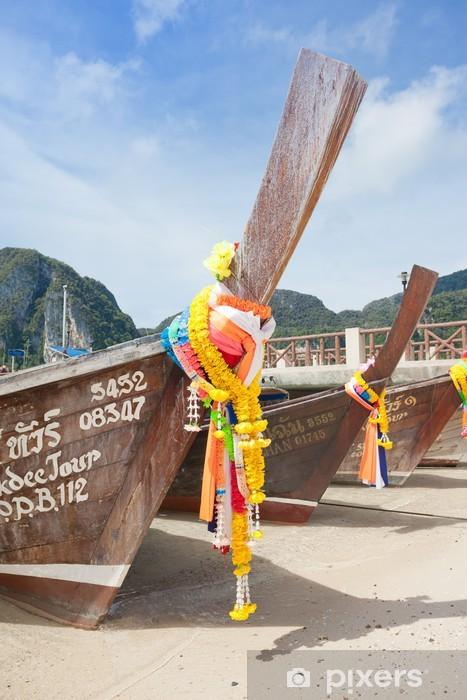Nálepka Pixerstick Thajsko - Ko Phi Phi Don - Krabi - Národní svátky