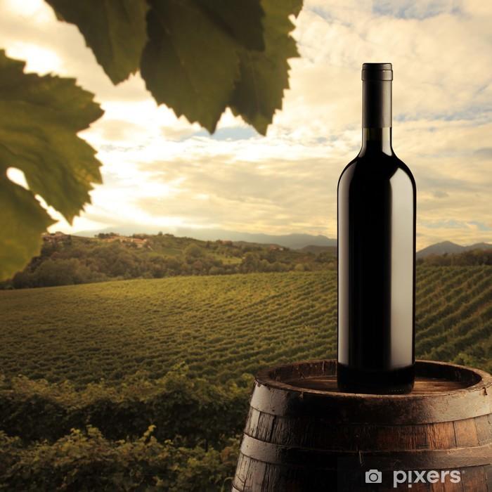 Plakat Butelkę czerwonego wina - Tematy