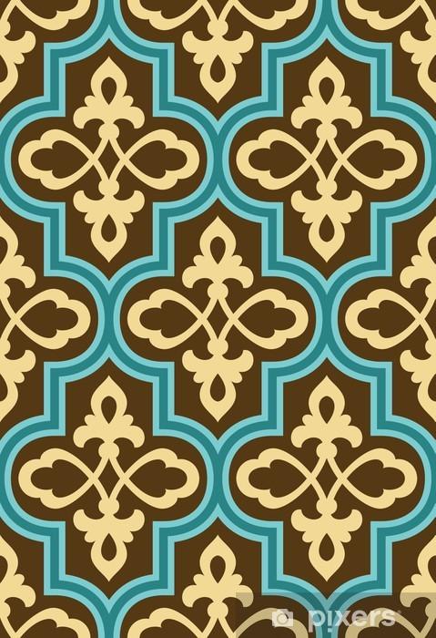 Naklejka Pixerstick Ahar Seamless Pattern - Bliski Wschód