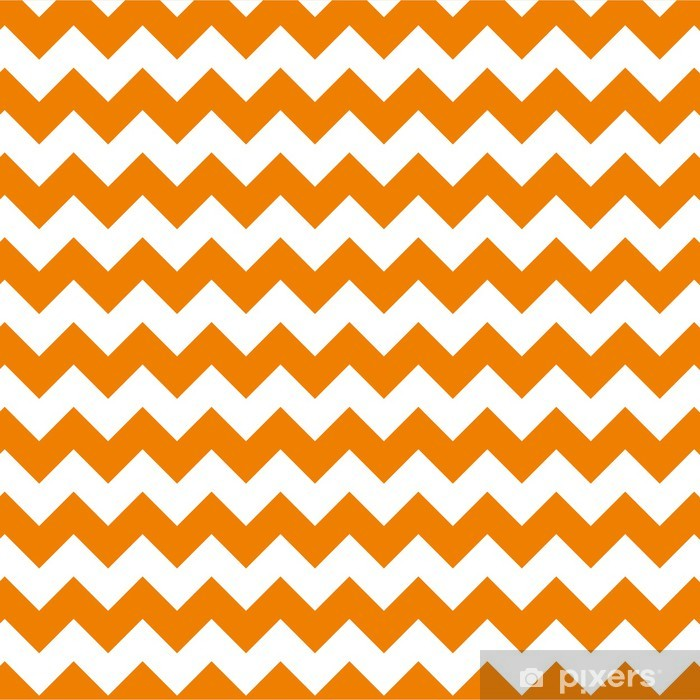 Autocolante para Janelas e Vidros zig zag chevron pattern background vintage vector illustration - Celebrações