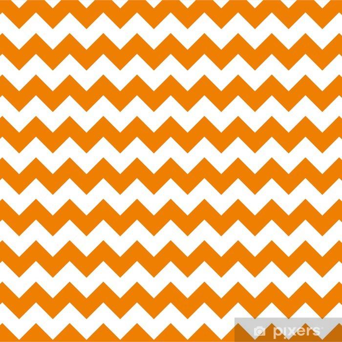 Fensteraufkleber Zick-Zack-Muster Chevron Hintergrund Jahrgang Vektor-Illustration - Feste