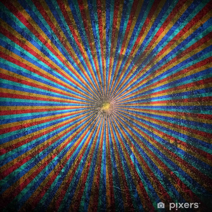 Vinyl Fotobehang Abstract stralen patroon - Andere Gevoelens