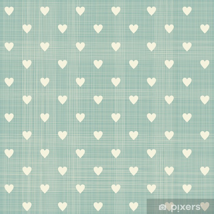 seamless hearts pattern Framed Poster - Styles