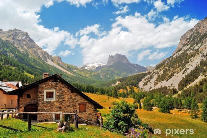 Fototapeta winylowa Francja Mountain Trail - Europa