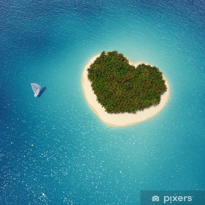 Insel In Herzform