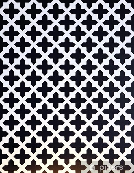 Naklejka Pixerstick Krzyż geometryczna - Tła