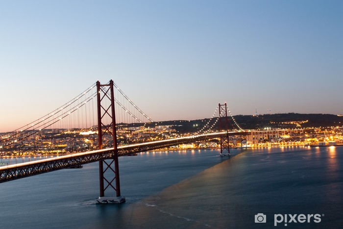 Lisboa Pixerstick Sticker - European Cities