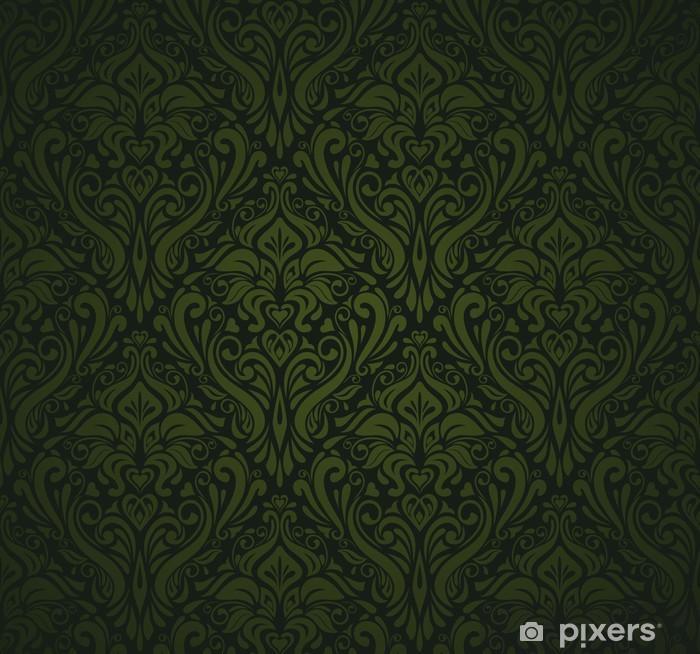 Papier Peint Vert Fonce Papier Peint Vintage