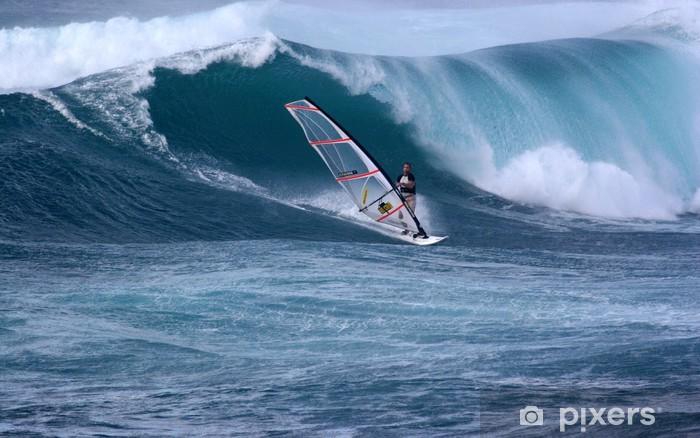 Vinilo Pixerstick Windsurfen - Deportes acuáticos