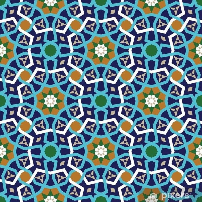 Poster Amol Seamless Pattern Deux - Moyen Orient