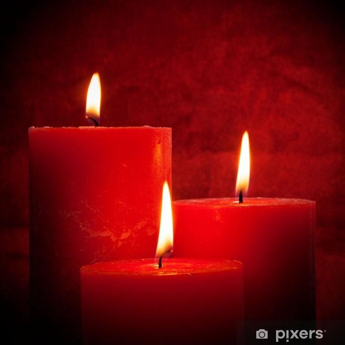 Nálepka Pixerstick Světlo svíček - Surové materiály
