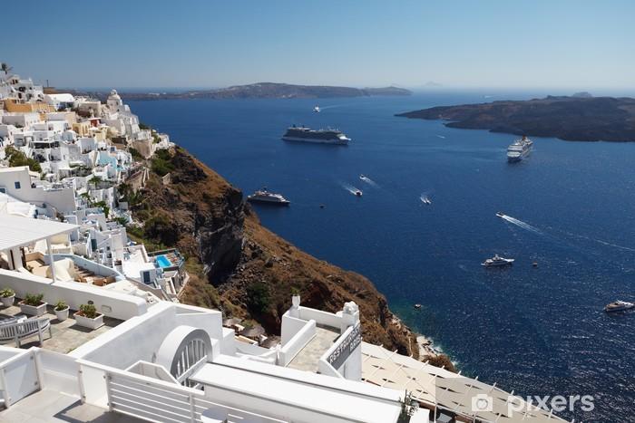 Fototapeta winylowa Romantyczny Santorini. Grecja. - Europa
