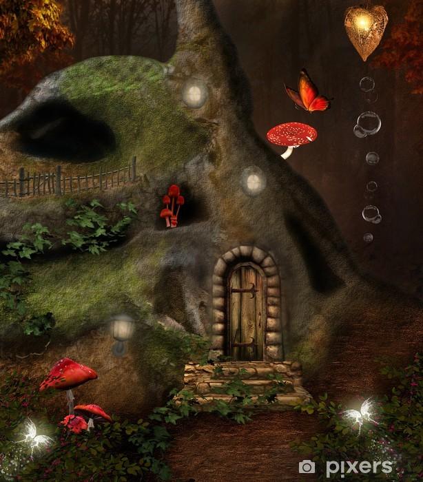 Midsummer night's dream series - the secret house Vinyl Wall Mural - Destinations